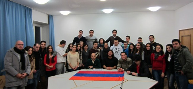Consiliul Central al armenilor din  Germania  şi întâlnirea tinerilor