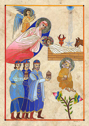 miniatura armeneasca Craciun_1