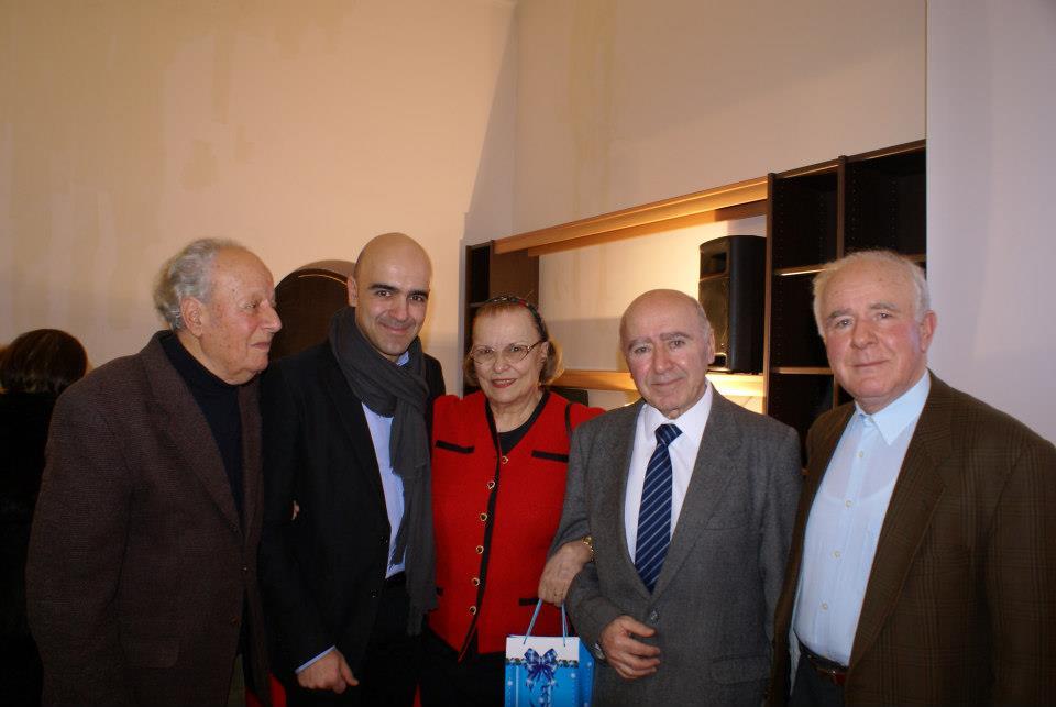 Ion Beldie, familia Cozighian (Paul, Florina și Varujan) și Nicolae Maxim