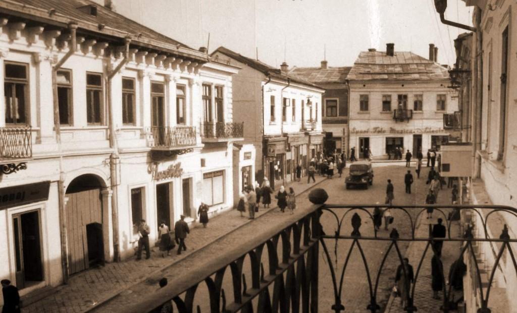 Suceava - Centrul vechi în anii 70