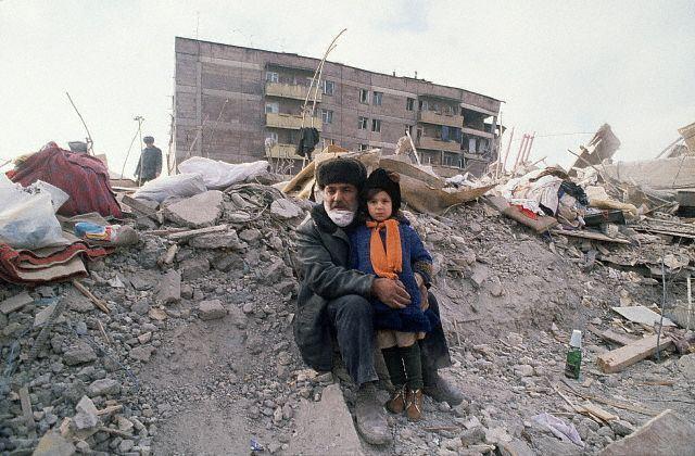 Armenia Earthquake Destruction
