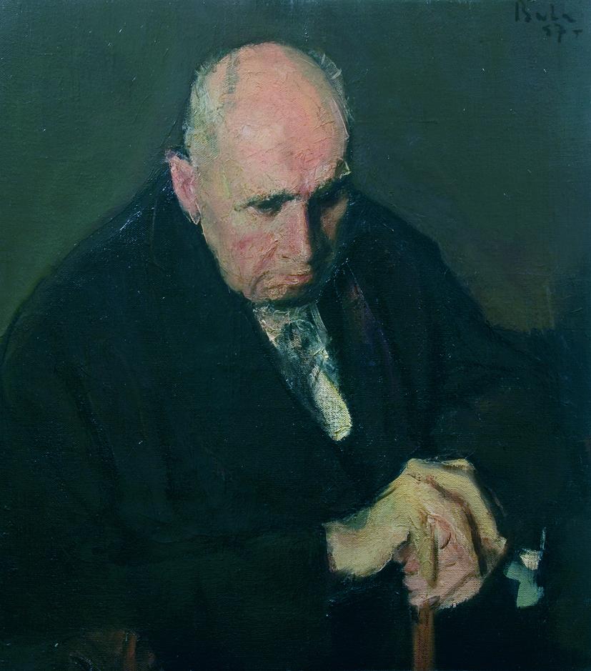 Corneliu Baba - portretul lui Zambaccian