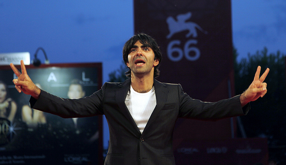 """Director Fatih Akin attends the """"Soul Kitchen"""" premiere at the Sala Grande during the 66th Venice Film Festival"""