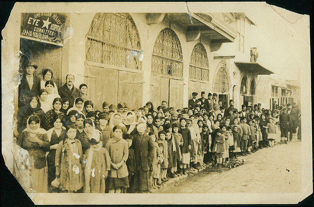 Aleppo_Jan_1920_Armenian_refugees_at_the_American_relief_eye_hospital_by_University_of_Michigan_Expedition,_George_R._Swain,_Ann_Arbor,_Michigan