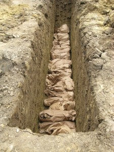 Osemintele dezgropate în cimitirul armenesc Sf. Simion au fost reînhumate (6)