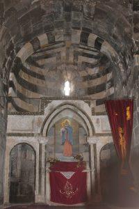 5 interiorul bisericii Sf. Tadeu