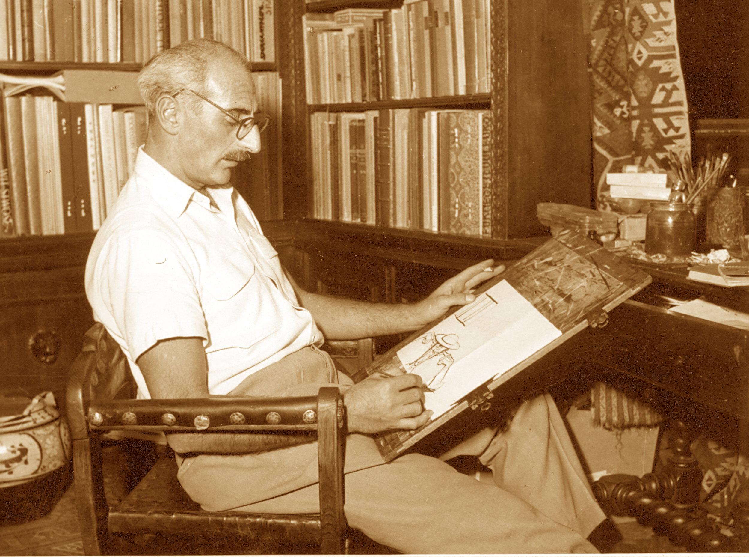 CALENDAR / Pe 6 august 1919 s-a născut plasticianul HACIK (CIK) DAMADIAN |  araratonline.com